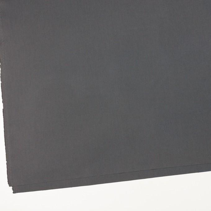 コットン×無地(チャコールグレー)×ブロード_全6色 イメージ2