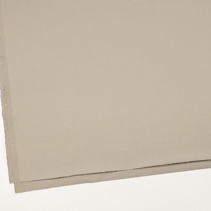 コットン×無地(カーキグレー)×ギャバジン_全3色_イタリア製 イメージ2