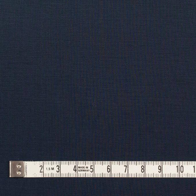 コットン×無地(ダークネイビー)×ギャバジン_全3色_イタリア製 イメージ4