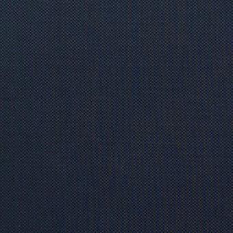 コットン×無地(ダークネイビー)×ギャバジン_全3色_イタリア製 サムネイル1