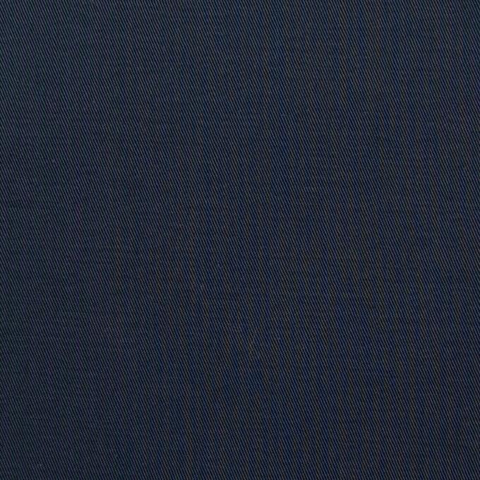 コットン×無地(ダークネイビー)×ギャバジン_全3色_イタリア製 イメージ1