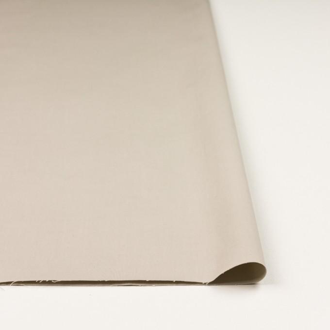 コットン×無地(グレイッシュベージュ)×二重織_全2色_イタリア製 イメージ3