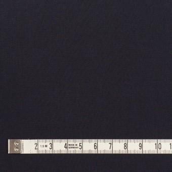 コットン×無地(ダークネイビー)×二重織_全2色_イタリア製 サムネイル4