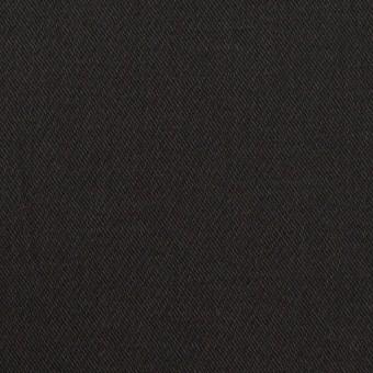 コットン&ポリウレタン×無地(ブラック)×チノクロス・ストレッチ サムネイル1