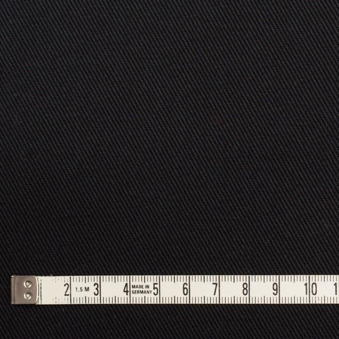 コットン×無地(ブラック)×カツラギ イメージ4