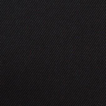 コットン×無地(ブラック)×カツラギ