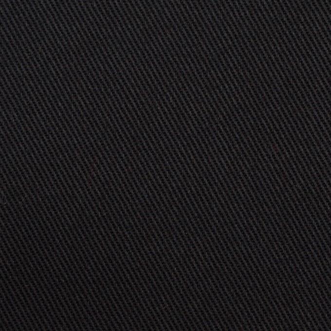 コットン×無地(ブラック)×カツラギ イメージ1