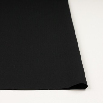 コットン&ポリウレタン×無地(ブラック)×リップストップ・ストレッチ サムネイル3