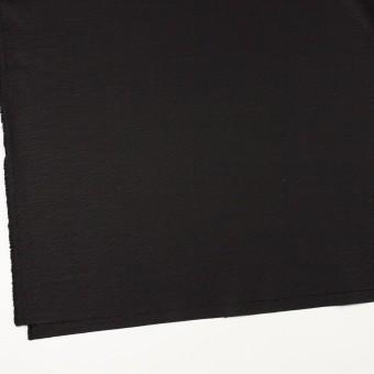 コットン&リネン混×無地(ブラック)×キャンバス・ストレッチ サムネイル2