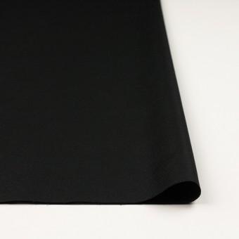 コットン&リネン混×無地(ブラック)×キャンバス・ストレッチ サムネイル3