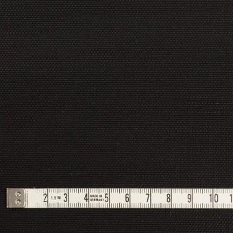 コットン&リネン混×無地(ブラック)×キャンバス・ストレッチ サムネイル4