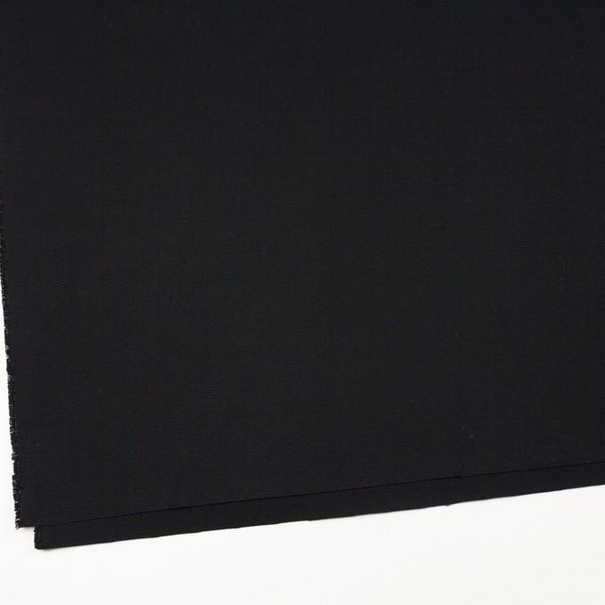 コットン×無地(ブラック)×9号帆布 イメージ2