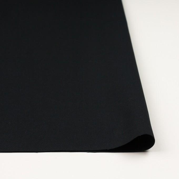 コットン×無地(ブラック)×9号帆布 イメージ3