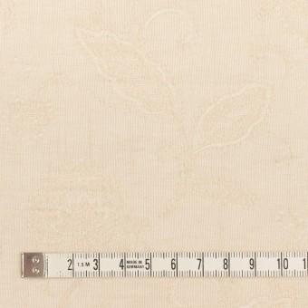 コットン&ナイロン×フラワー(キナリ)×オーガンジー・ジャガード_全3色 サムネイル4