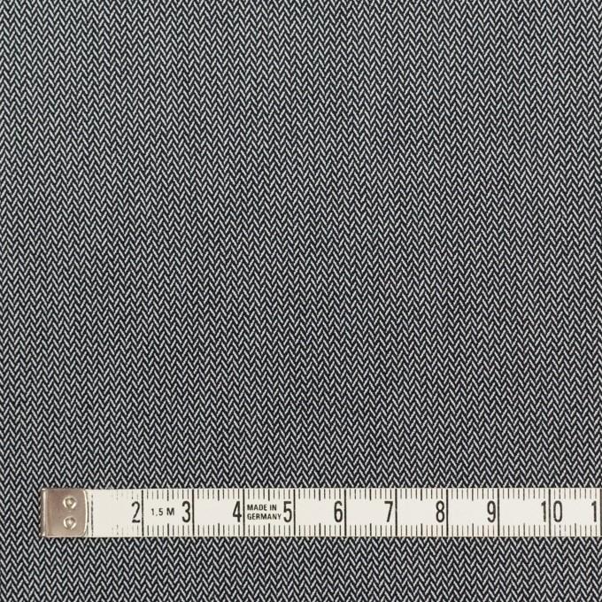 コットン&ポリエステル混×ミックス(チャコールグレー)×ヘリンボーン イメージ4