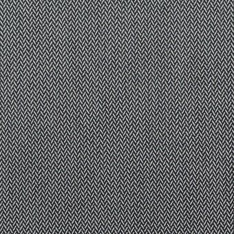 コットン&ポリエステル混×ミックス(チャコールグレー)×ヘリンボーン サムネイル1