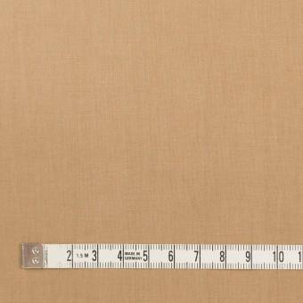 リネン&ビスコース混×無地(オークル)×シーチング・ストレッチ_全2色_イタリア製 サムネイル4