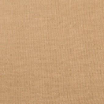 リネン&ビスコース混×無地(オークル)×シーチング・ストレッチ_全2色_イタリア製 サムネイル1