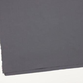 リネン&ビスコース混×無地(スチール)×シーチング・ストレッチ_全2色_イタリア製 サムネイル2