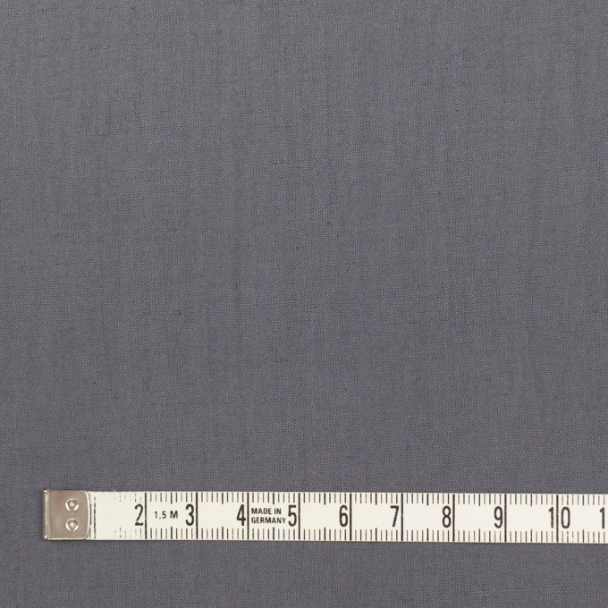 リネン&ビスコース混×無地(スチール)×シーチング・ストレッチ_全2色_イタリア製 イメージ4