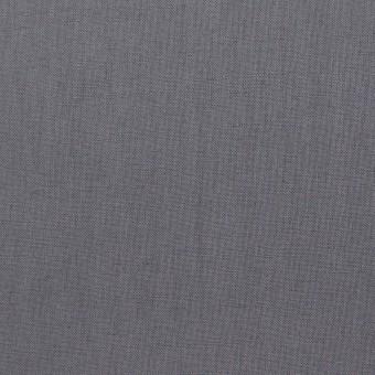 リネン&ビスコース混×無地(スチール)×シーチング・ストレッチ_全2色_イタリア製