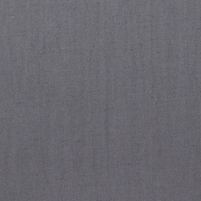リネン&ビスコース混×無地(スチール)×シーチング・ストレッチ_全2色_イタリア製 イメージ1