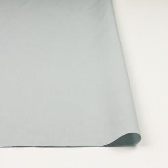 リネン&コットン混×無地(サックスグレー)×ポプリン_全3色_イタリア製 サムネイル3