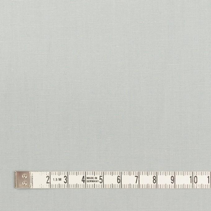 リネン&コットン混×無地(サックスグレー)×ポプリン_全3色_イタリア製 イメージ4