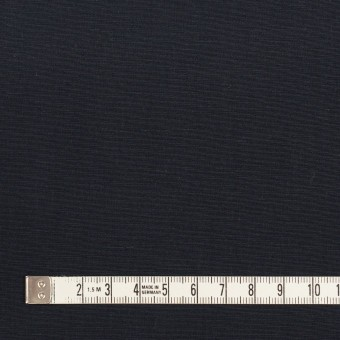 リネン&コットン混×無地(ダークネイビー)×ポプリン_全3色_イタリア製 サムネイル4