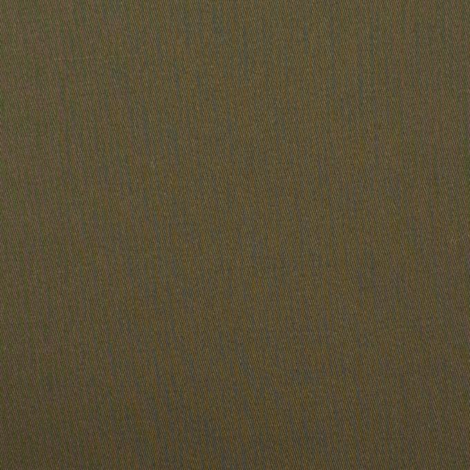 コットン×無地(ダークカーキ)×サテン_全7色 イメージ1