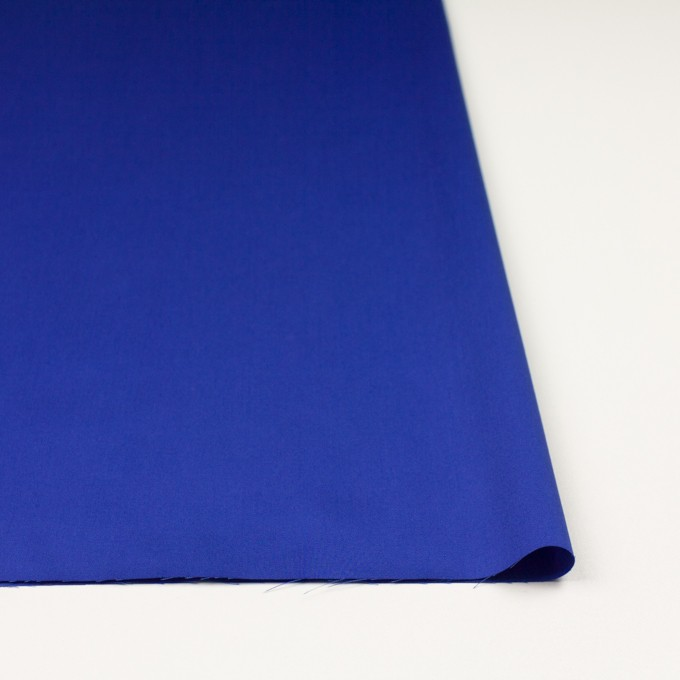 コットン×無地(ロイヤルブルー)×サテン_全7色 イメージ3