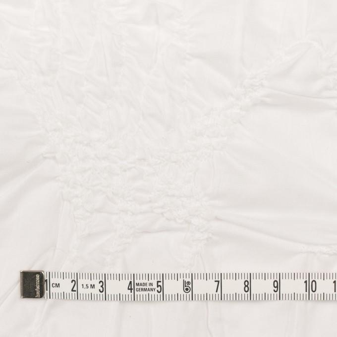 コットン×幾何学模様(オフホワイト)×ローンシャーリング刺繍_全2色 イメージ4