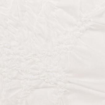 コットン×幾何学模様(オフホワイト)×ローンシャーリング刺繍_全2色 サムネイル1