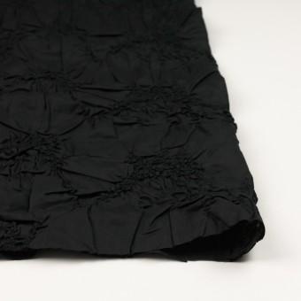 コットン×幾何学模様(ブラック)×ローンシャーリング刺繍_全2色 サムネイル3