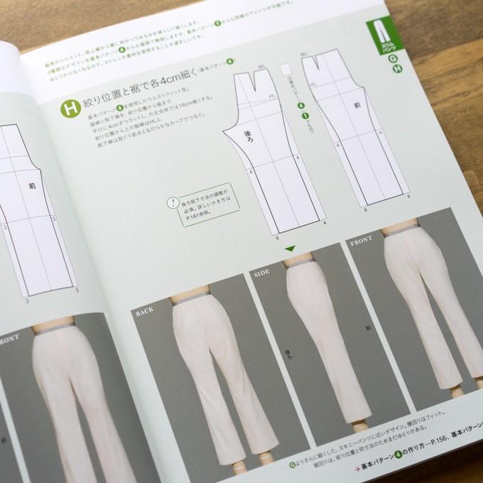 誌上・パターン塾 Vol.3パンツ編(文化出版局編) イメージ3