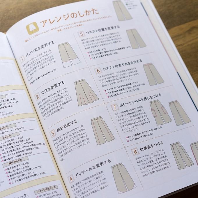 誌上・パターン塾 Vol.3パンツ編(文化出版局編) イメージ5