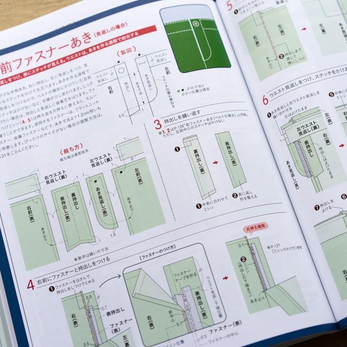 誌上・パターン塾 Vol.3パンツ編(文化出版局編) イメージ6