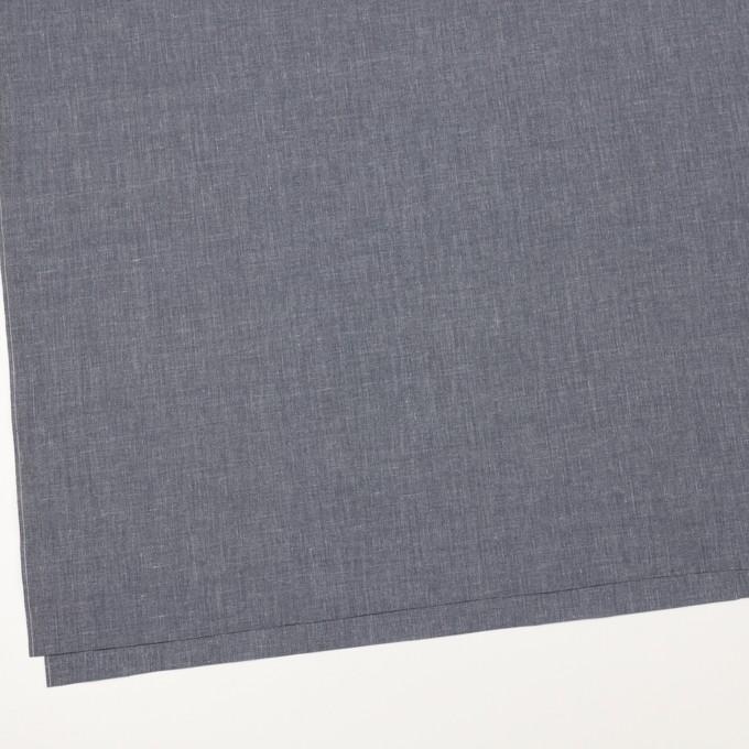 コットン&ポリエステル×無地(アッシュネイビー)×ブロード イメージ2