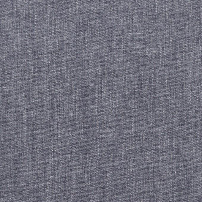 コットン&ポリエステル×無地(アッシュネイビー)×ブロード イメージ1