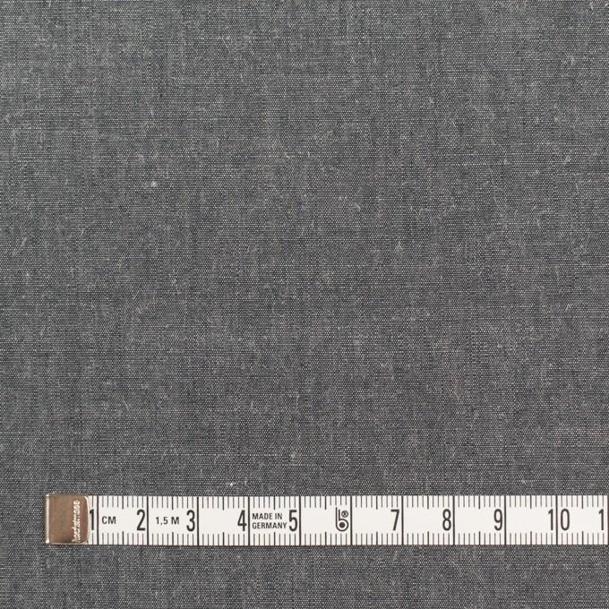コットン&レーヨン×無地(チャコールグレー)×シャンブレー イメージ4