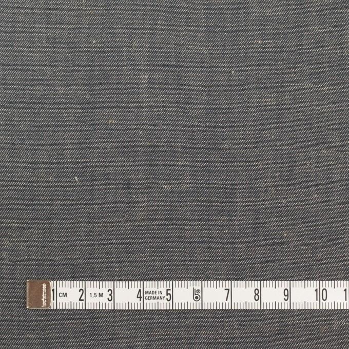 コットン&リネン×無地(チャコールグレー)×サージ イメージ4