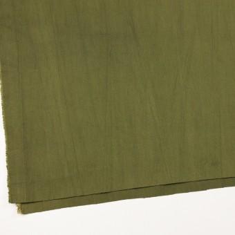 コットン&ポリウレタン×無地(カーキグリーン)×かわり織ストレッチ_全2色 サムネイル2