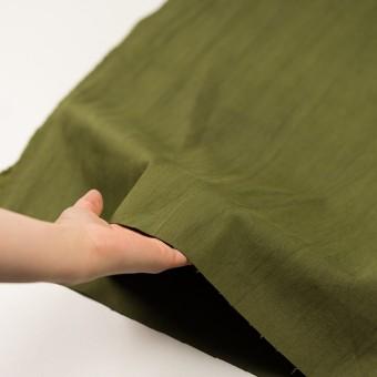 コットン&ポリウレタン×無地(カーキグリーン)×かわり織ストレッチ_全2色 サムネイル5