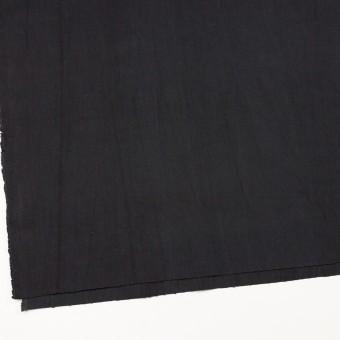 コットン&ポリウレタン×無地(ブラック)×かわり織ストレッチ_全2色 サムネイル2