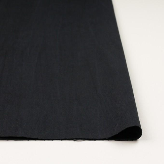 コットン&ポリウレタン×無地(ブラック)×かわり織ストレッチ_全2色 イメージ3
