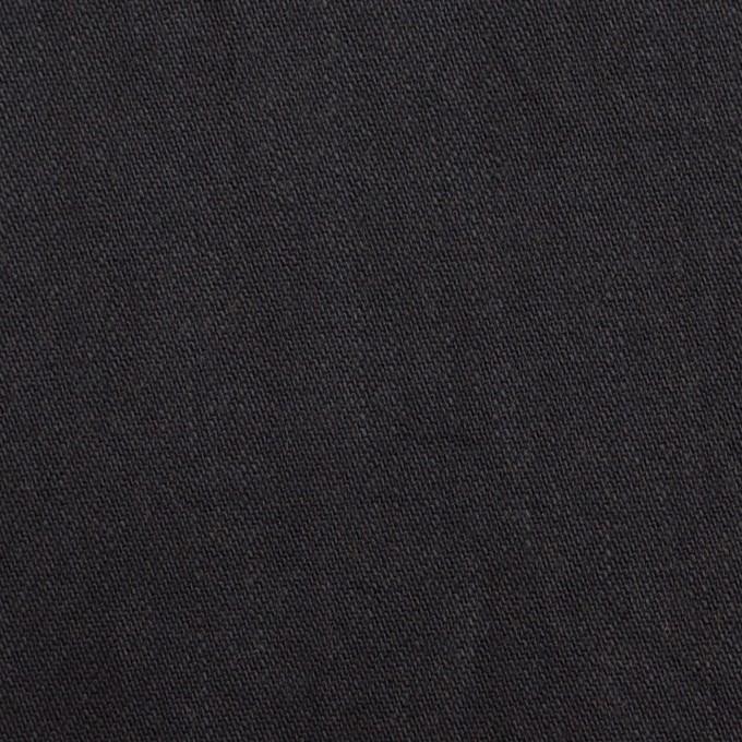コットン&ポリウレタン×無地(ブラック)×かわり織ストレッチ_全2色 イメージ1