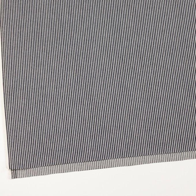 コットン&ポリウレタン×ストライプ(インディゴ)×デニムヒッコリー・ストレッチ(9oz) イメージ2