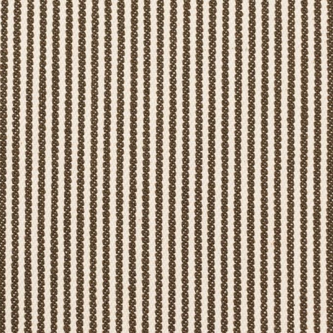 コットン×ストライプ(チャコール&キナリ)×デニムヒッコリー(9.5oz) イメージ1