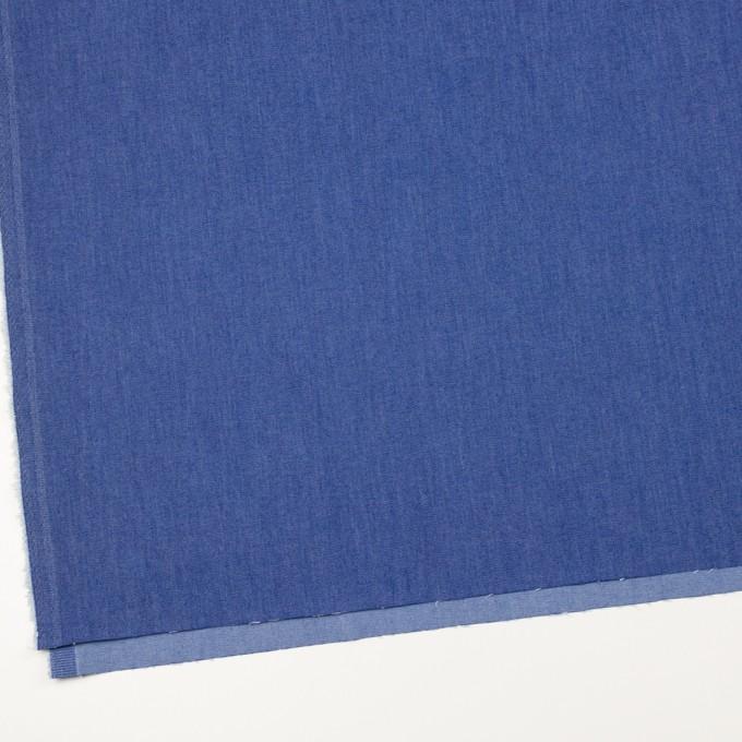 コットン&ポリウレタン×無地(オリエンタルブルー)×デニムストレッチ(7oz) イメージ2