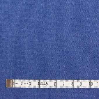 コットン&ポリウレタン×無地(オリエンタルブルー)×デニムストレッチ(7oz) サムネイル4